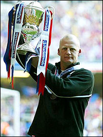 Crystal Palace boss Iain Dowie