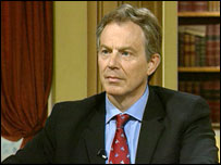 The Prime Minister, Tony Blair, MP