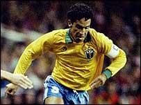 Former Brazil star Careca scored against Exeter