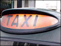 taxi sign generic