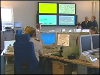 Ambulance dispatch centre