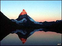 Matterhorn at dawn   AP