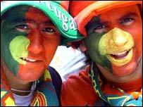 Portuguese football fans