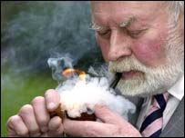 Richard Dunhill, Pipesmoker of the Year 2002