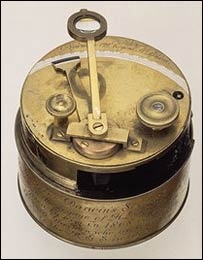 Charles Darwin's pocket sextant, RGS