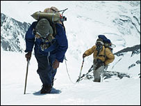 Tenzing and Hillary on Everest, RGS