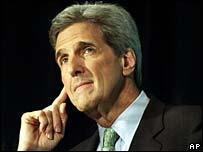 Democratic presidential candidate John Kerry