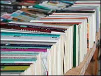 Row of books - generic