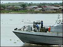 Nigerian gun boat