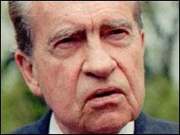 Former US President, Richard Nixon