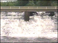 Weir on the River Tamar