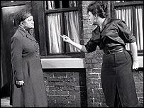 Scene from Coronation Street