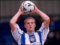 Colchester defender Alan White