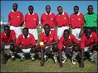 Kenya's football team
