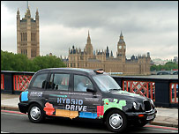 HEV (Hybrid Electric Vehicle) taxi