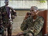 Gen Laurent Nkunda in Bukavu