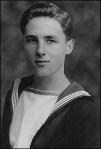 Bill Chippendale in naval uniform