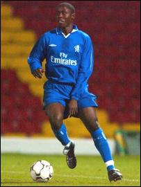 Chelsea's Ugandan-born Joel Kitamirike
