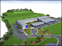 Proposed new Dingwall Academy