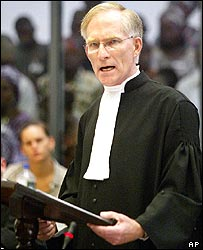 Chief prosecutor David Crane