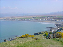 Borth beach, Ceredigion