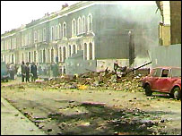 Railton Road, Brixton after the riot
