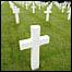 Cementerio estadounidense en el norte de Francia