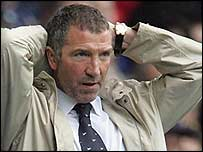 Blackburn manager Graeme Souness
