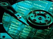 Inside computer hard drive, Eyewire