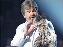 Bob Carolgees and Spit the Dog