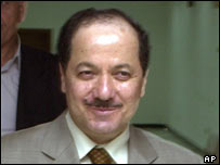 KDP leader Massoud Barzani