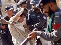 Student arrested in Karachi