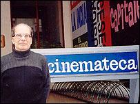 Manuel Martínez Carril, director de Cinemateca Uruguaya.