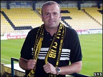Allan Preston became Livingston manager in June