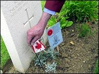 Canadian gravestone