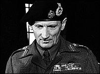 Field Marshal Bernard Montgomery
