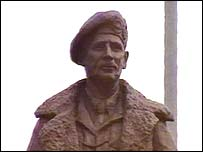 Statue of Field Marshal Montgomery