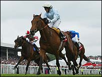 Kieren Fallon and North Light win the Derby