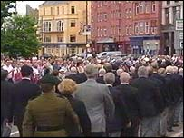 The parade which marked the 60th anniversary of D-Day