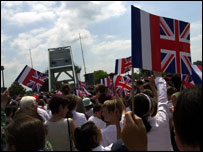 Pegasus Bridge parade