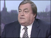 John Prescott, MP, Deputy leader of the Labour Party