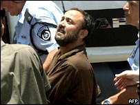 Marwan Barghouti goes to court for sentencing