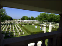 Canadian WWII cemetery