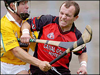 Antrim drew with Down in the 2004 Ulster hurling final