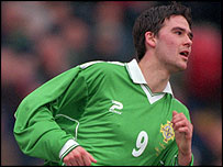 Northern Ireland striker David Healy