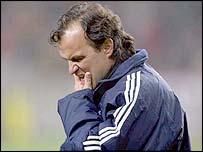 Argentina coach Marcelo Bielsa