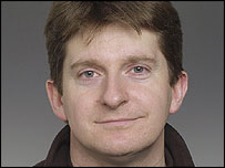 Simon Cumbers, freelance journalist and cameraman working for the BBC