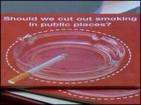 Smoking advert