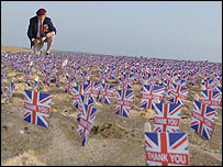 D-Day commemoration at Sword Beach