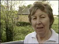 Joan Bullock says bridge reunited long-separated communities